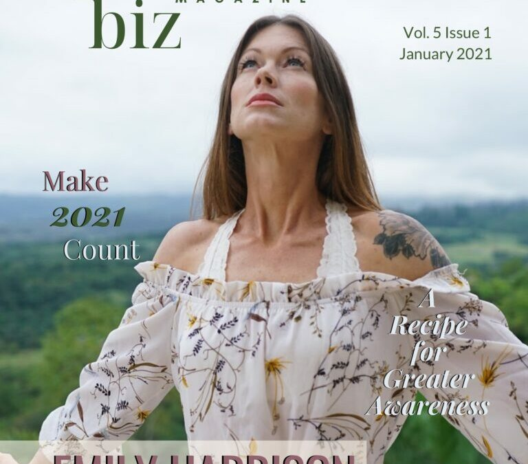Akashic Academy Founder Featured On Cover Of Spiritual Biz Magazine